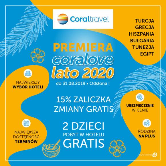 Premiera #coralovelato 2020 już w sprzedaży