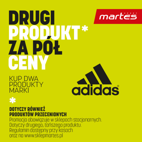 Promocja adidas w Martes Sport