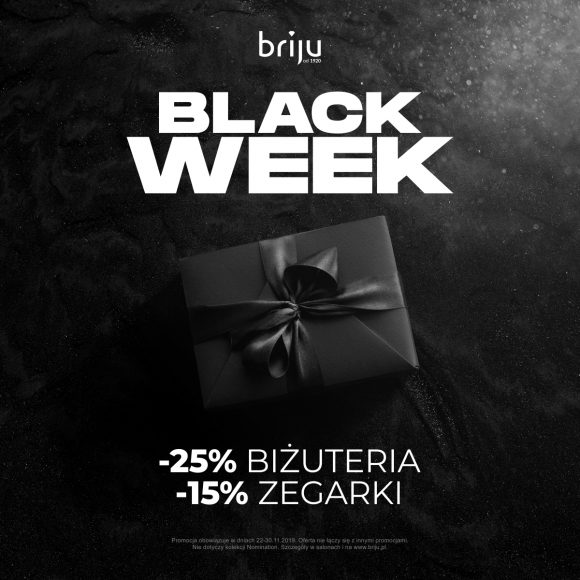 Black Week w salonach Briju!