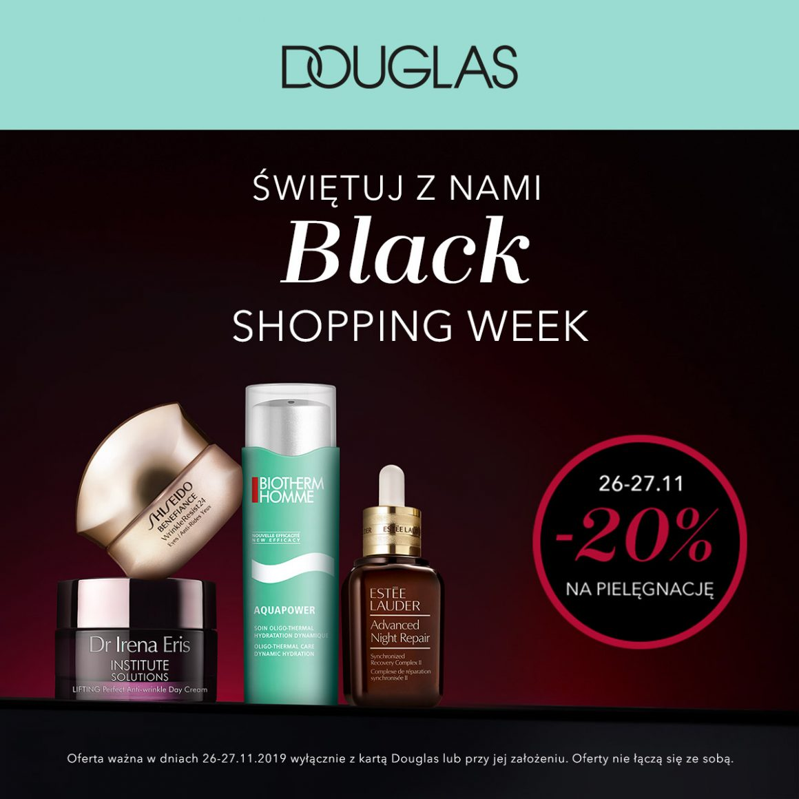 BLACK SHOPPING WEEK W DOUGLAS!