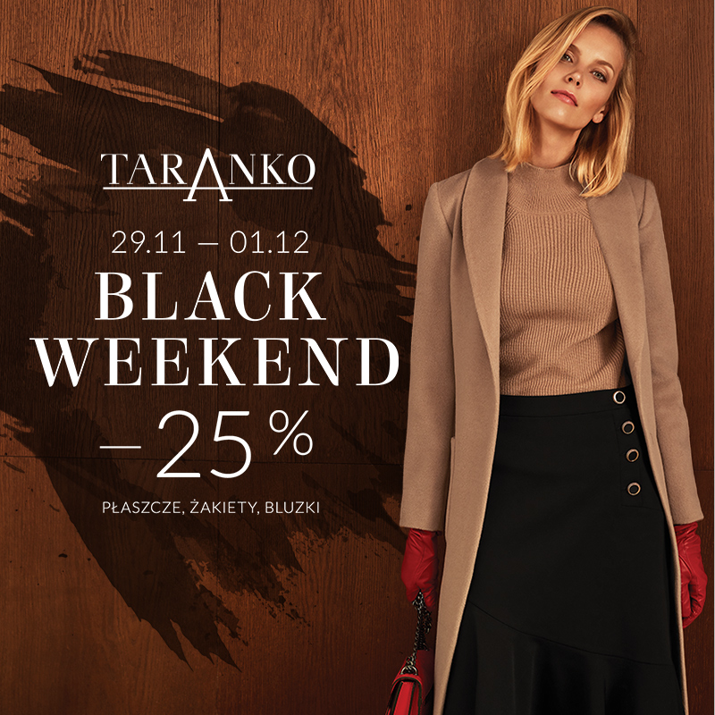 BLACK WEEKEND w Taranko!