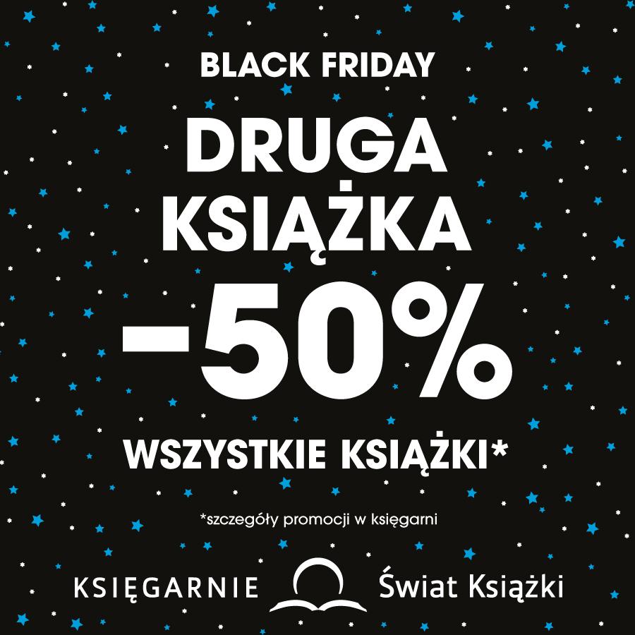 Black Friday w księgarni Świat Książki