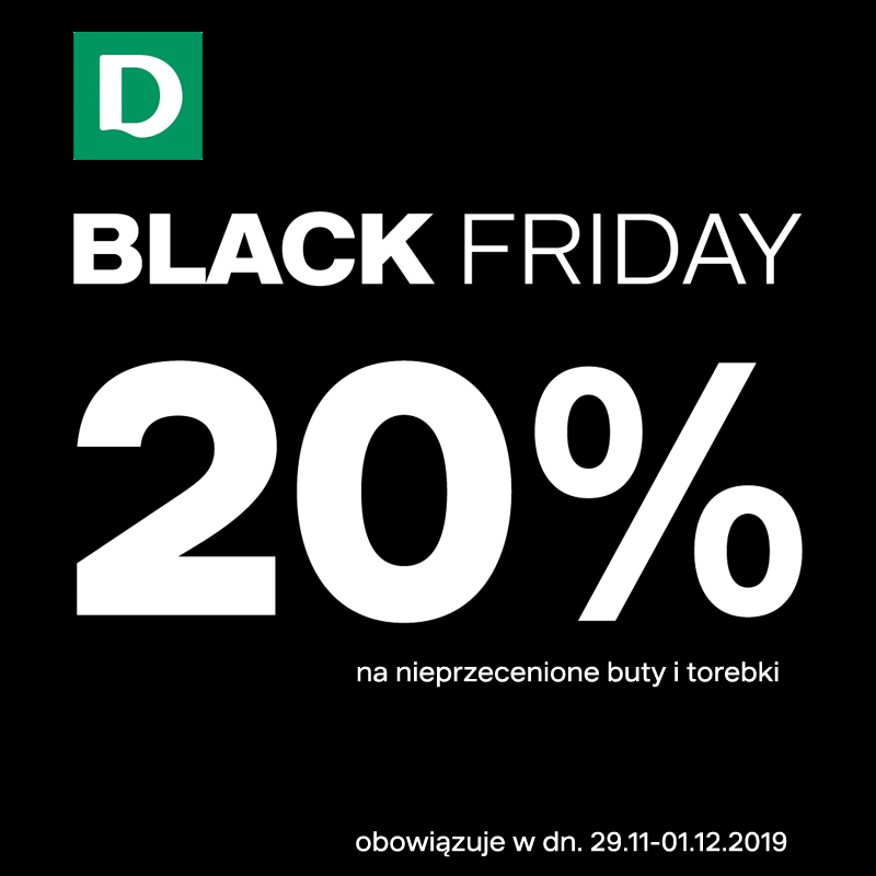 Black Friday w Deichmann