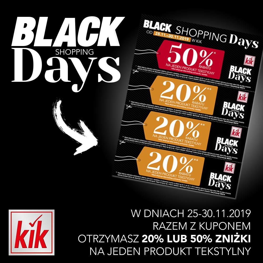 Black Shopping Days w KiK!