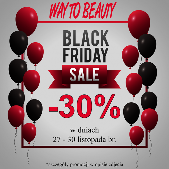 Black Friday w WAY TO BEAUTY