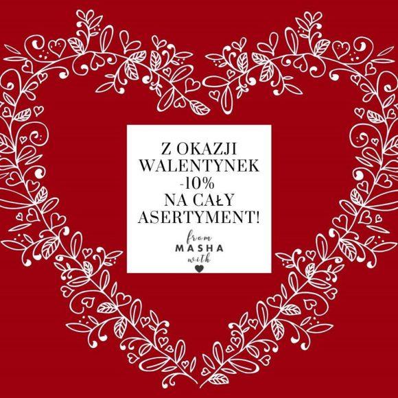 Walentynki w sklepie Masha Clothes