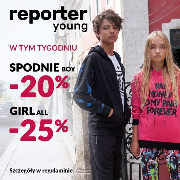 Z Reporter Young KAŻDY WYGRYWA!
