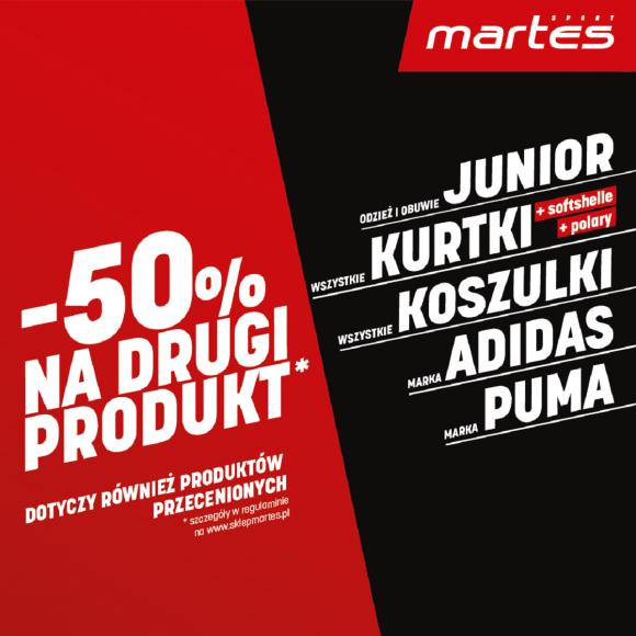 Zapraszamy na zakupy w Martes Sport
