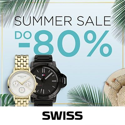 SUMMER SALE w butikach SWISS!