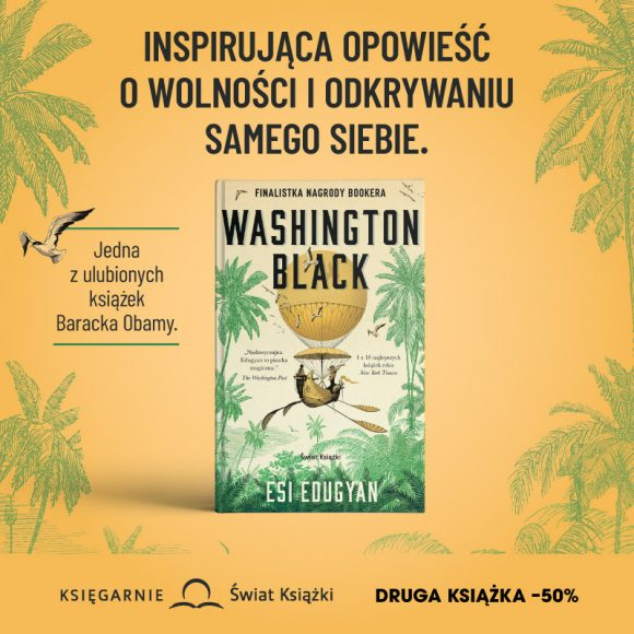 """Washington black"" Esi Edugyan"