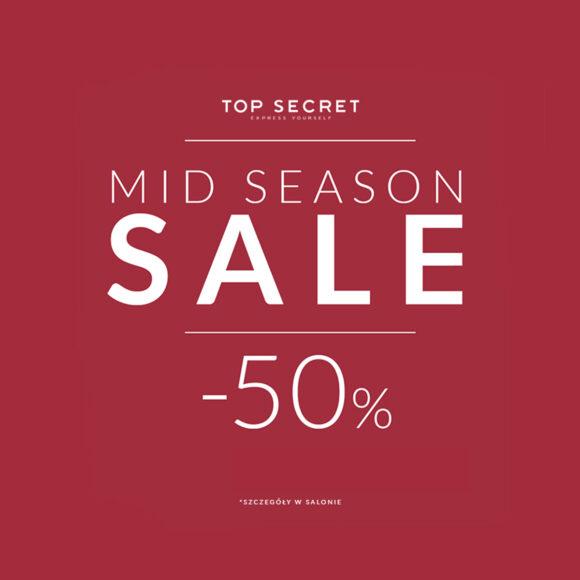 Mid season sale do -50% w Top Secret!