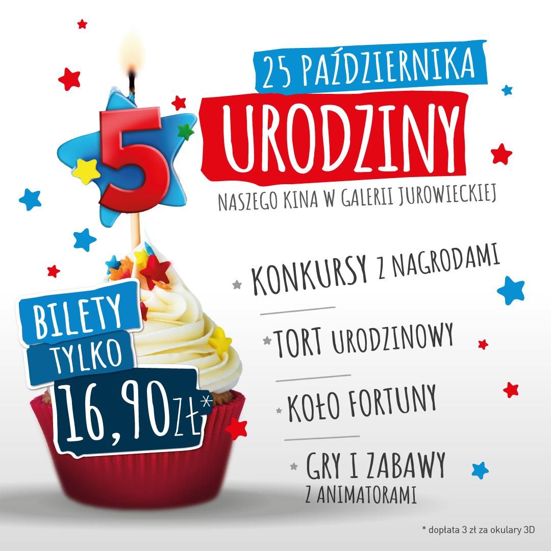 5. urodziny kina Helios Jurowiecka w Białymstoku!