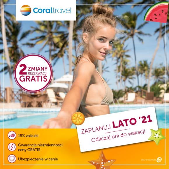 Coral Travel Premiera Lato 2021!