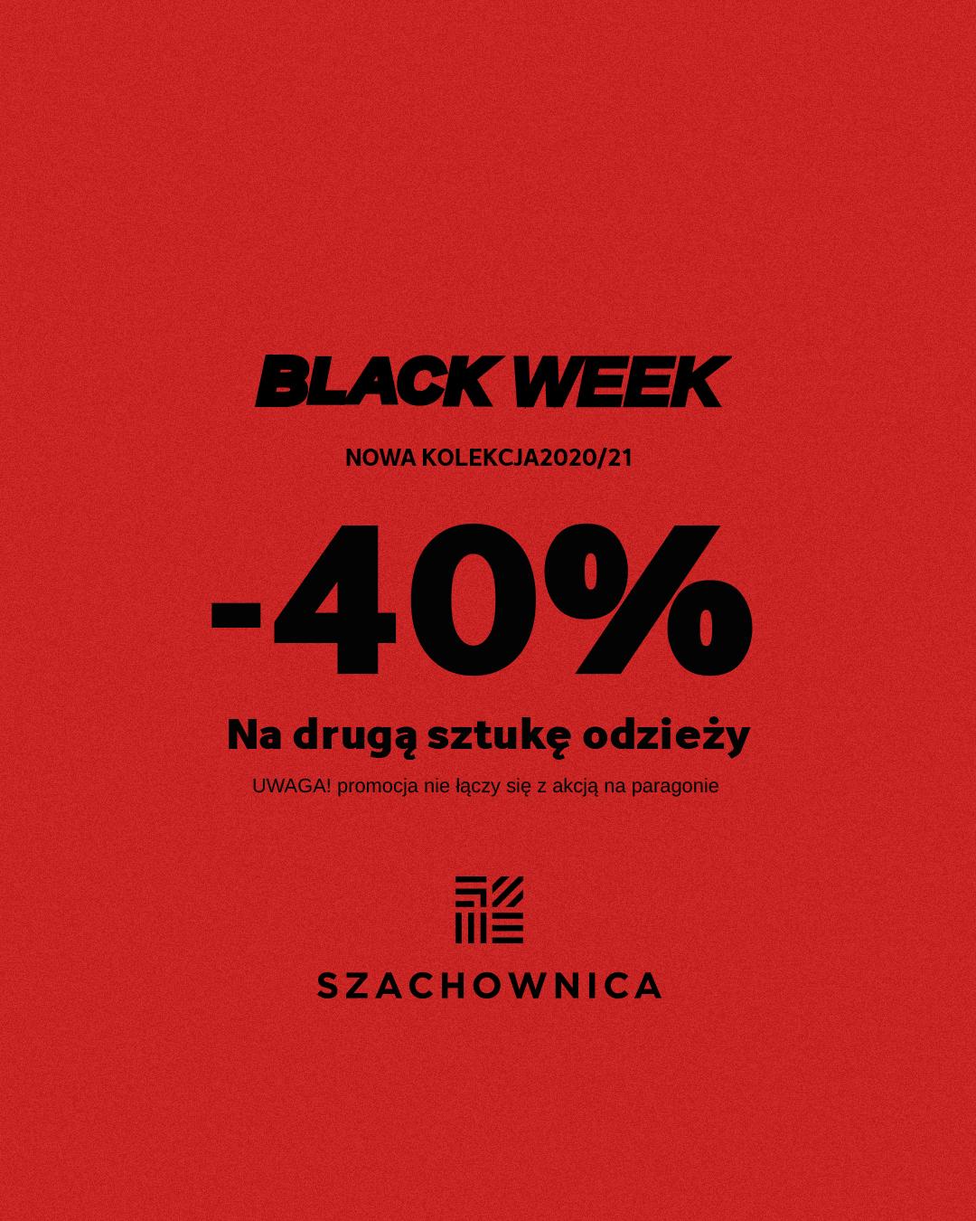 Black Week w sklepie Szachownica!
