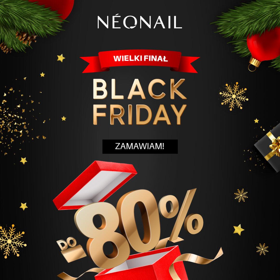 Promocja Black Friday od NEONAIL