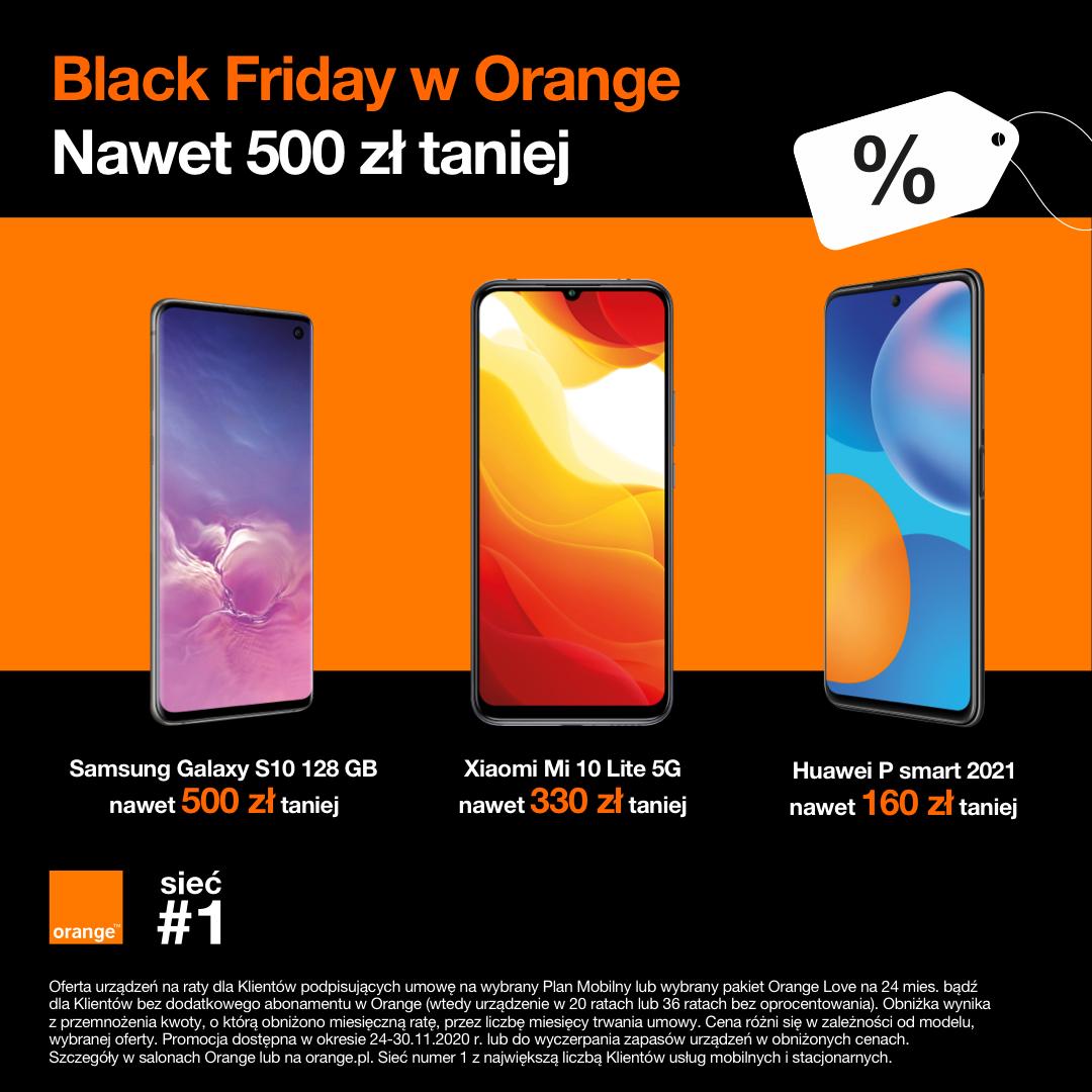 Black Friday w Orange!