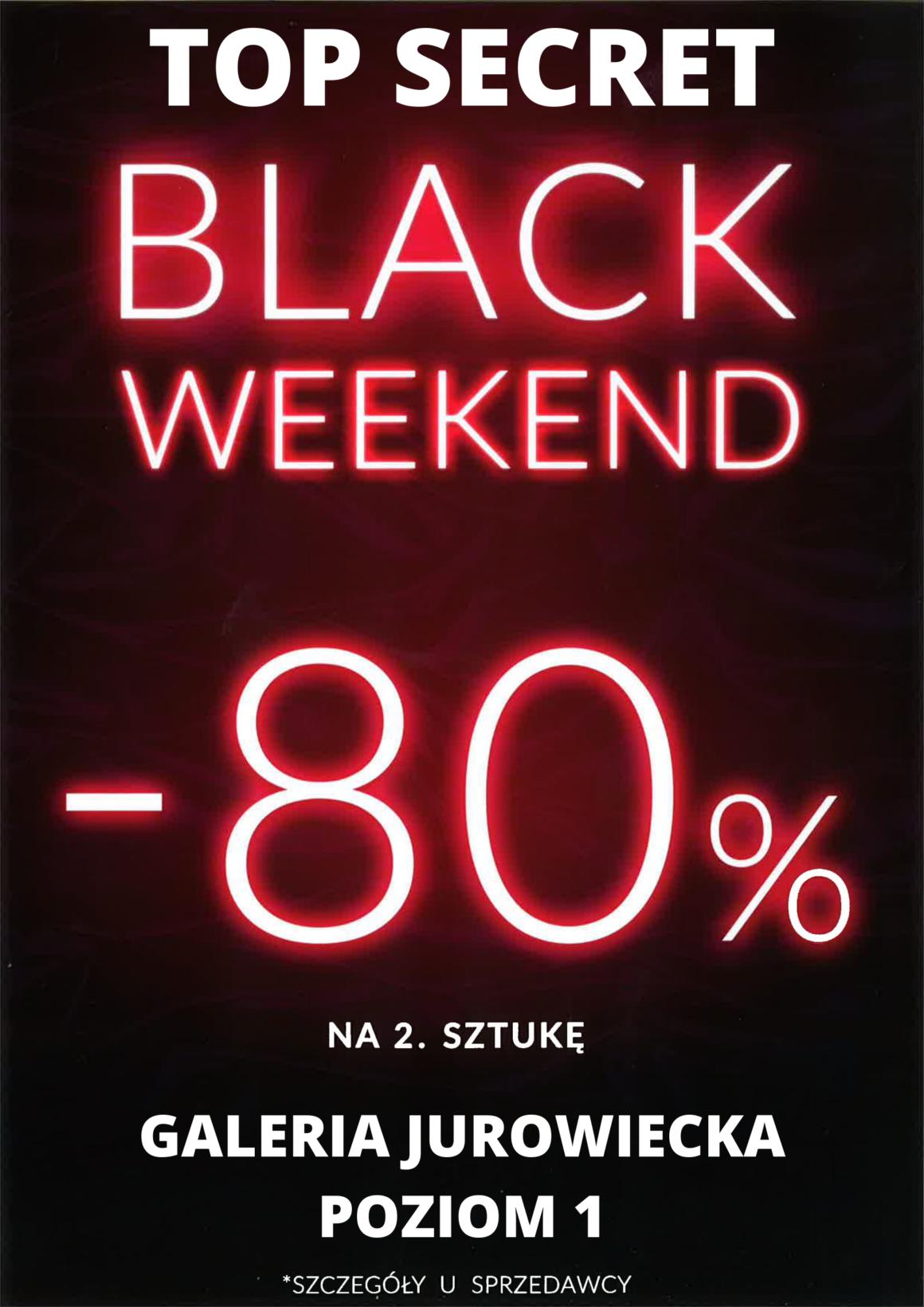Black Weekend Top Secret