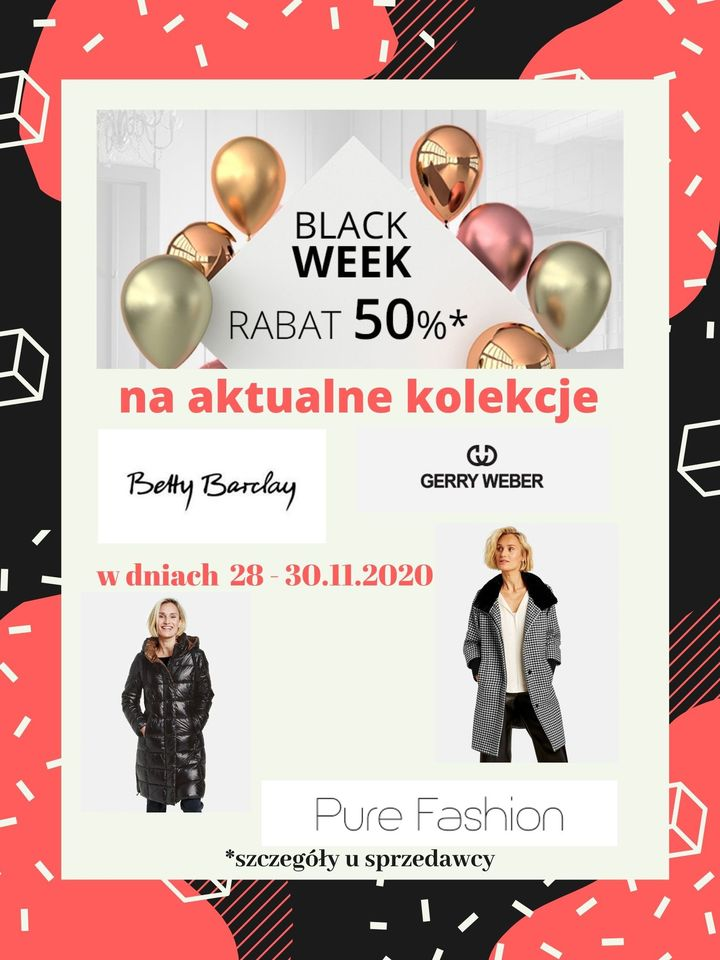 Black Weekend w Pure Fashion!