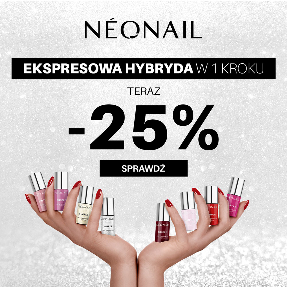 PROMOCJE od NEONAIL    -25% na lakiery z kolekcji SIMPLE