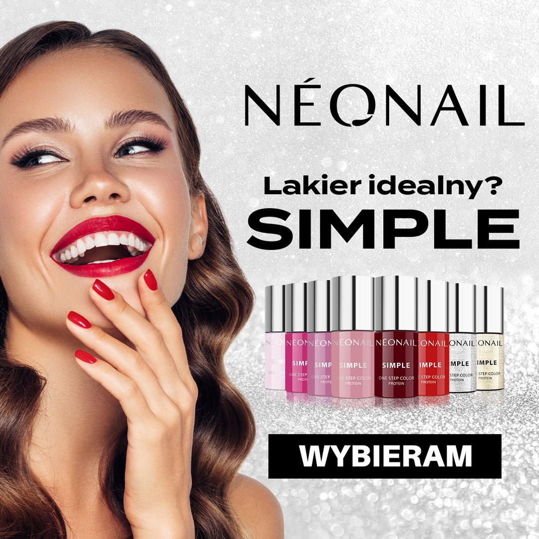 NOWOŚĆ! Lakiery hybrydowe SIMPLE od NEONAIL w nowych odcieniach.
