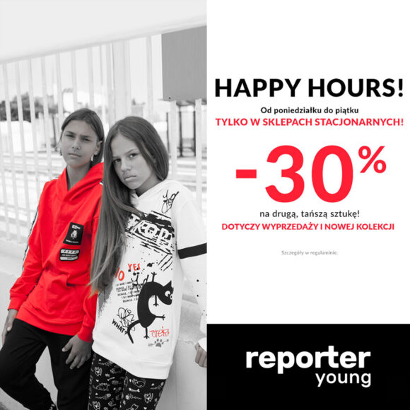 HAPPY HOURS w Reporter Young!