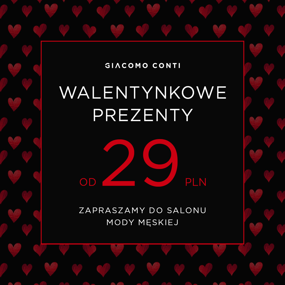 Walentynki z Giacomo Conti!