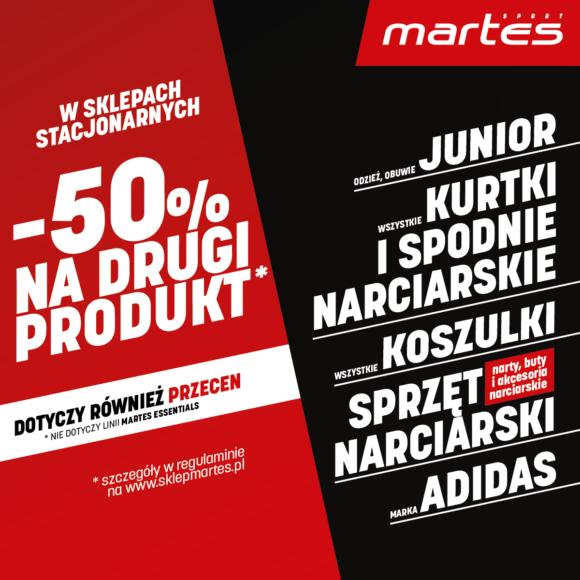 Wyprzedaż w Martes Sport!