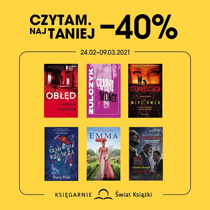 Czytam taniej -40%
