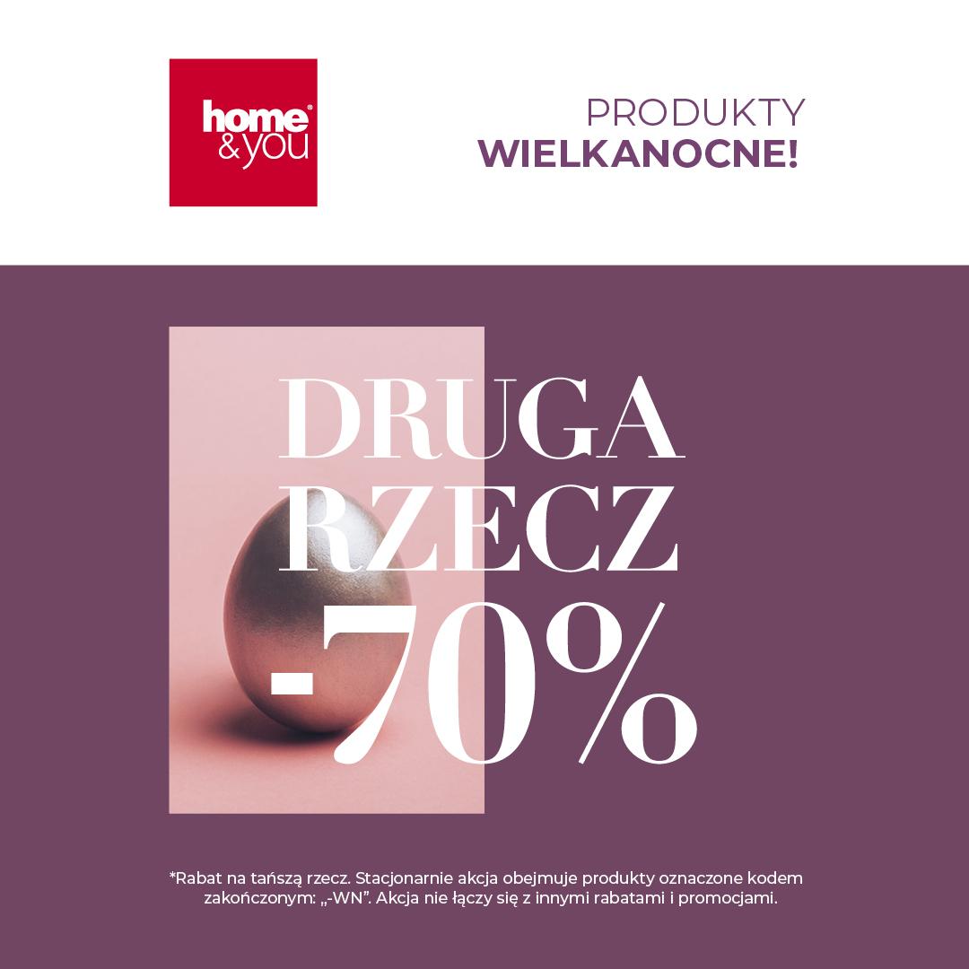 Promocja Druga Rzecz -70% na produkty wielkanocne