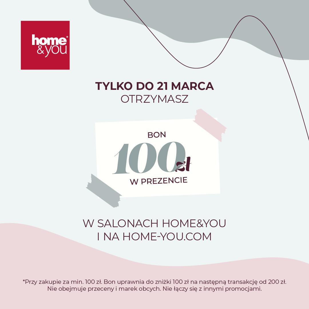 BON 100 ZŁ || HOME&YOU
