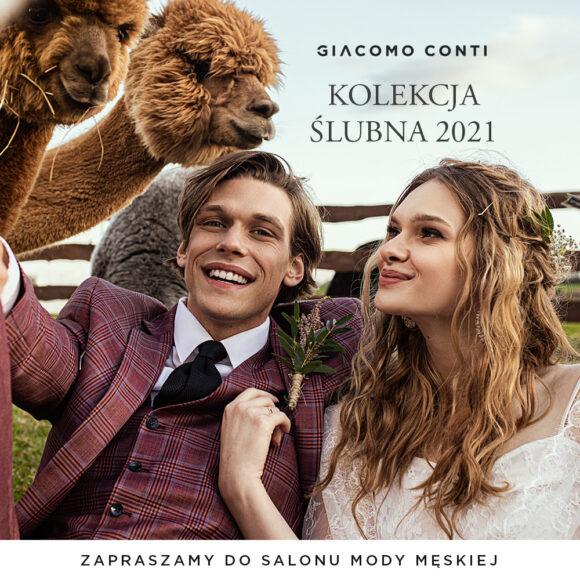 Giacomo Conti – Kolekcja Ślubna 2021
