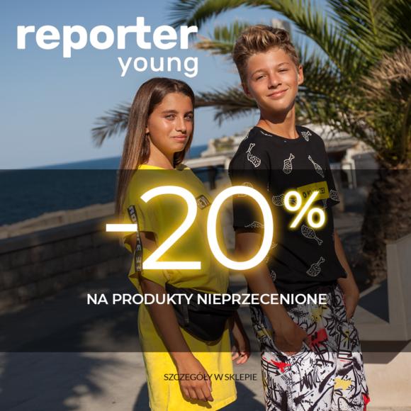 Rabat -20% na rzeczy nieprzecenione!