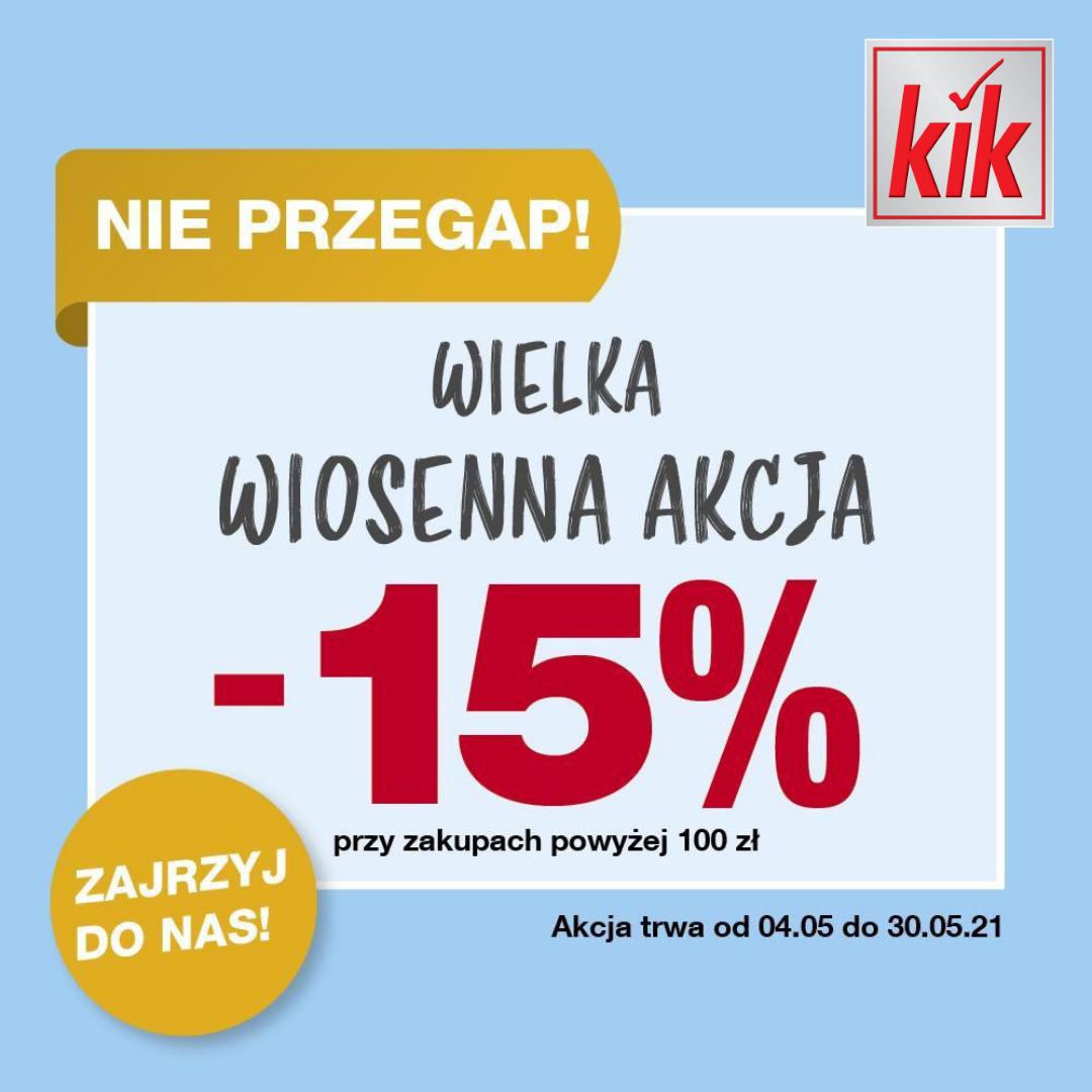 Wpadnij na wiosenne zakupy do KiK! ❤