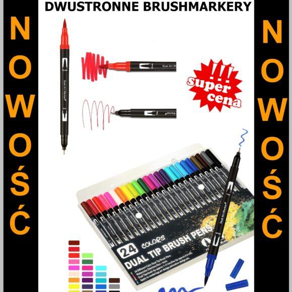Już są w REBIS, zestawy markerów dual tip brush!