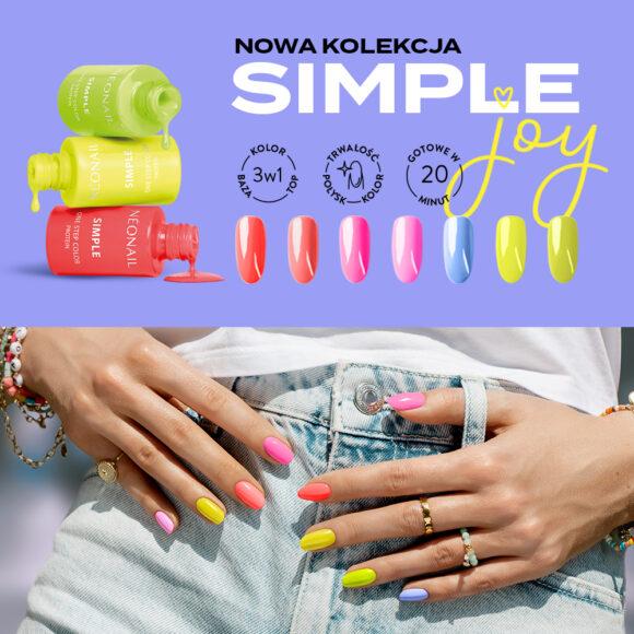 Baw się kolorami! 2+1 na lakiery SIMPLE.
