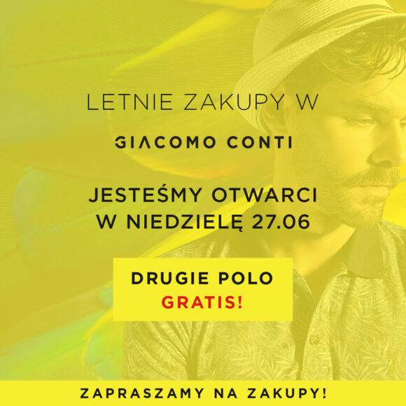 Letnie okazje w Giacomo Conti!