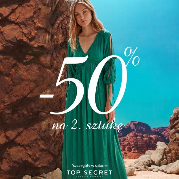 Top Secret – 50% na 2. sztukę!
