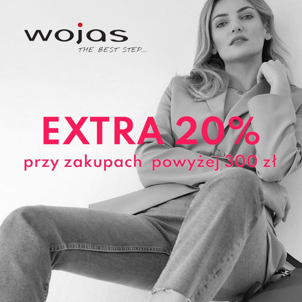 EXTRA RABAT 20% przy zakupach powyżej 300 zł