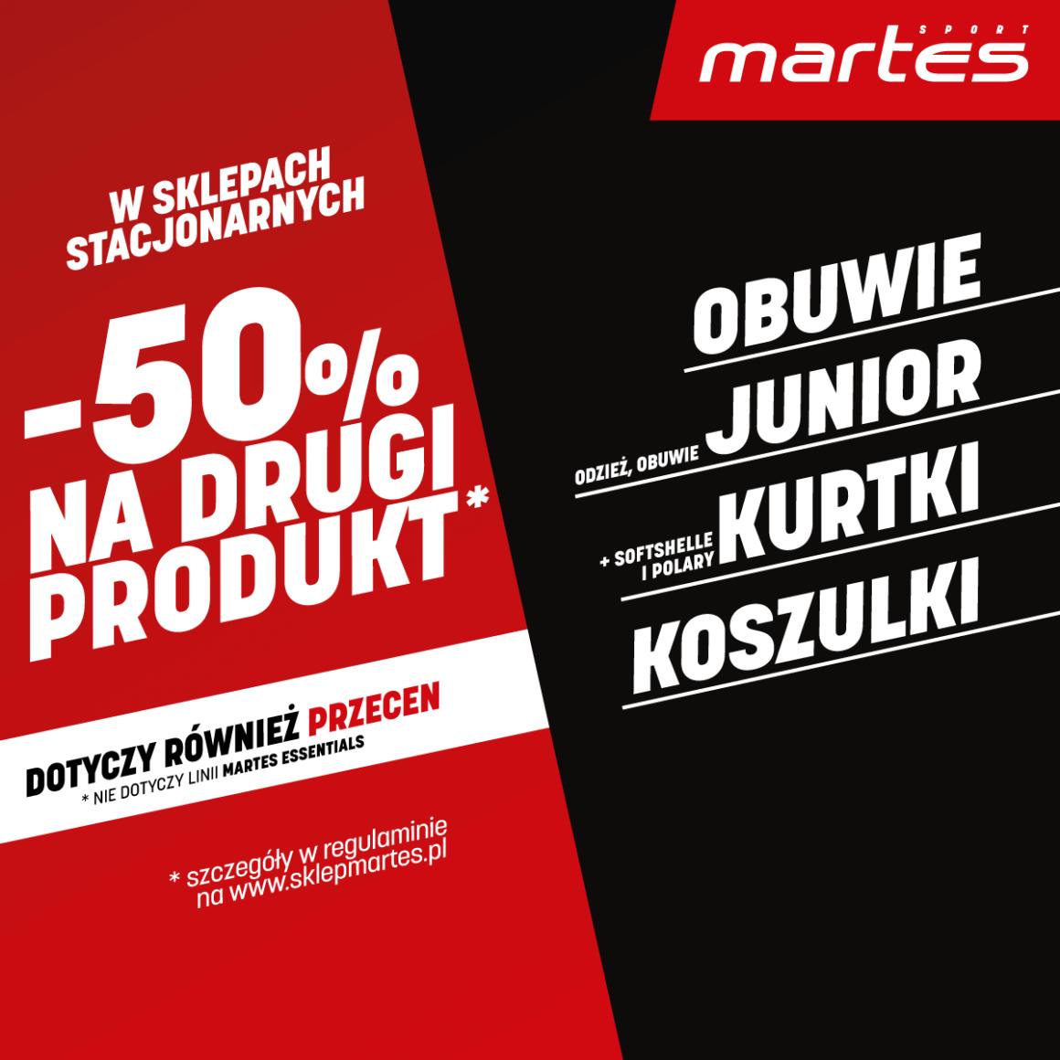 Dobra promocja to taka, która trwa cały czas! Zyskaj rabat -50% na drugi produkt!