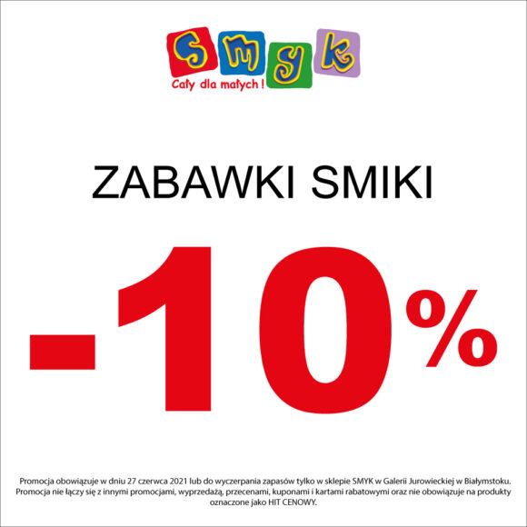 Zabawki SMIKI -10% w SMYK!