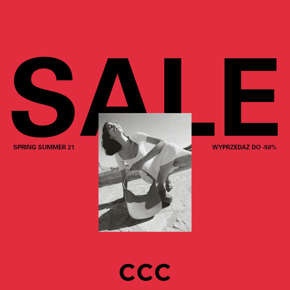 Wyprzedaż do -50% CCC