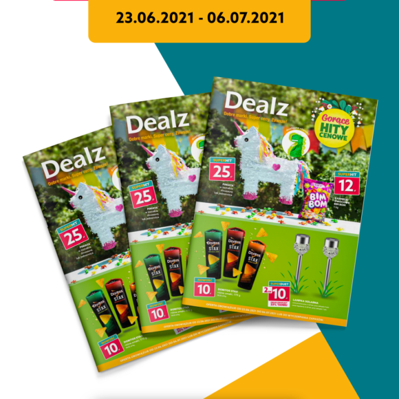 Nowa Gazetka Dealz – od 23.06.2021 do 06.07.2021
