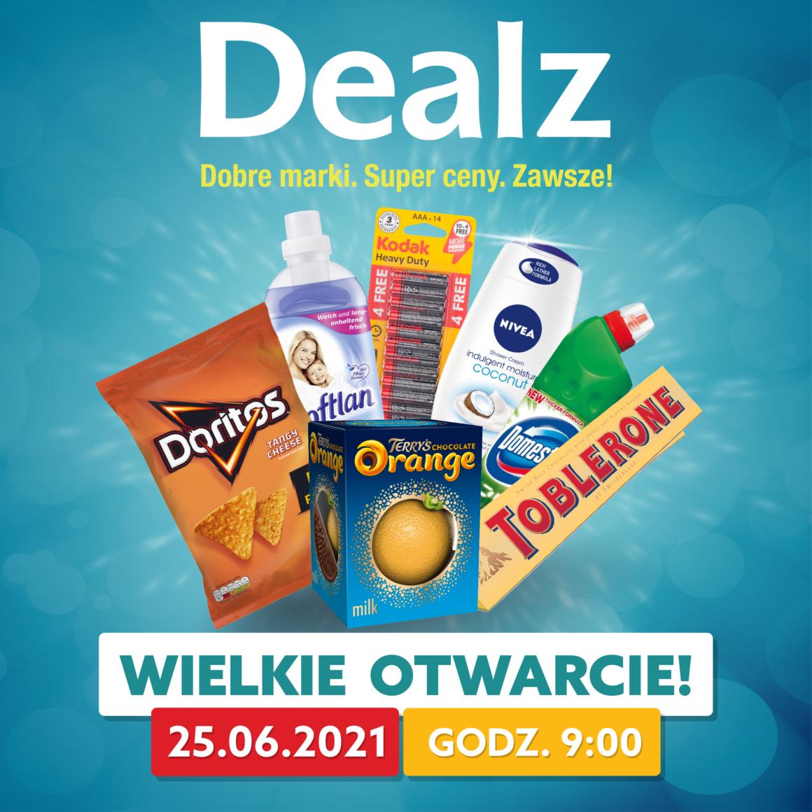 Wielkie otwarcie Delaz!