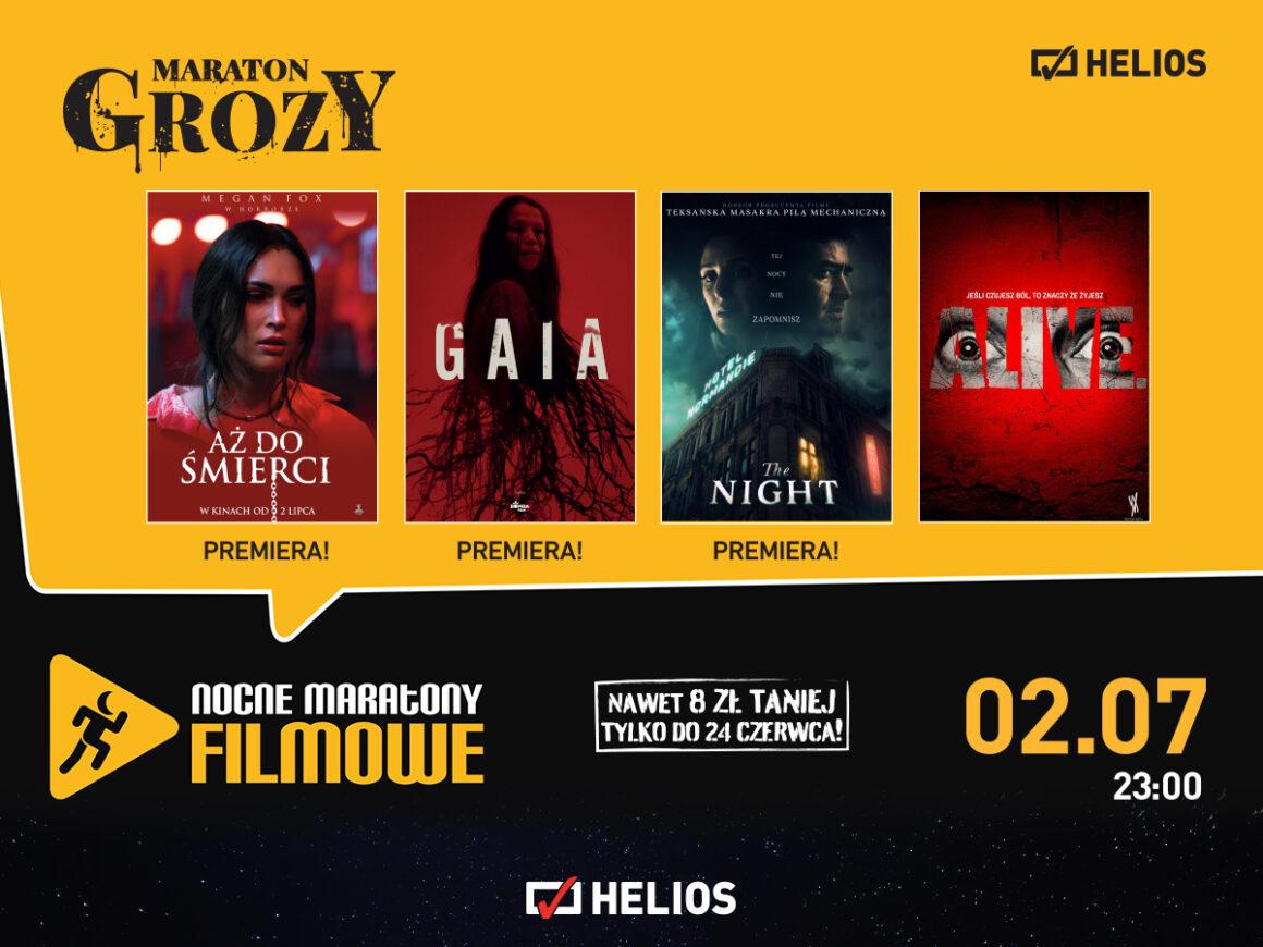 """02.07 – Nocne Maratony Filmowe – """"Maraton Grozy"""""""