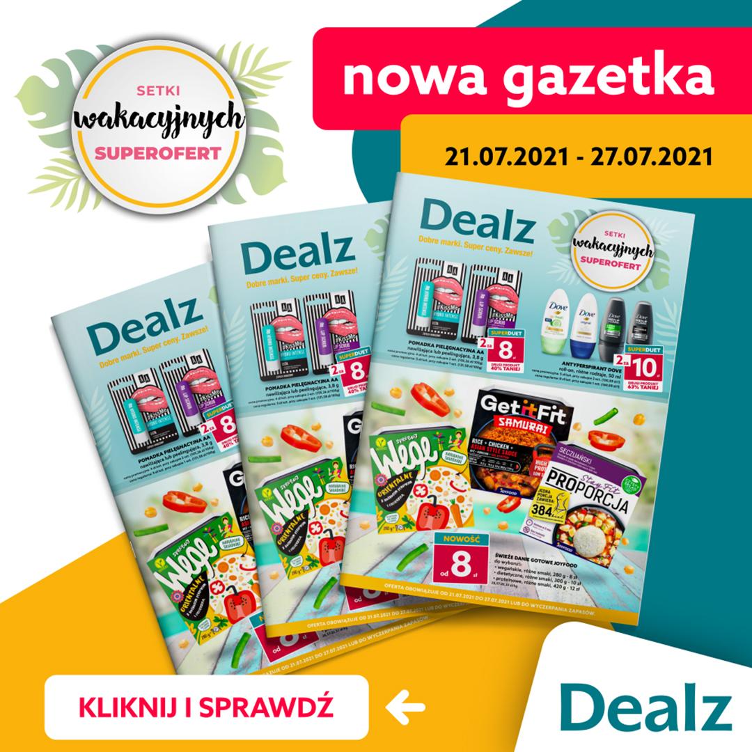 Nowa Gazetka Dealz – od 21.07.2021 do 27.07.2021