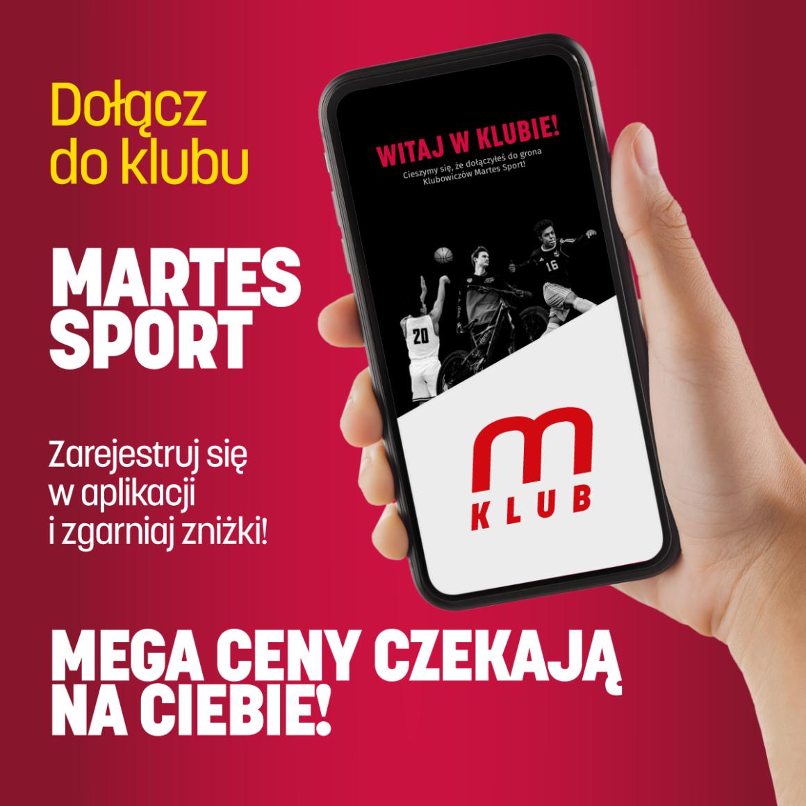 Dołącz do Klubu Martes Sport!