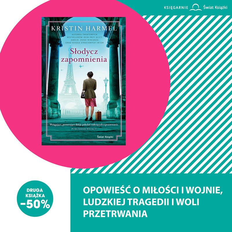 -50% na drugą książkę