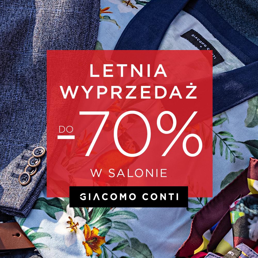 Letnia wyprzedaż aż do – 70% w Giacomo Conti!