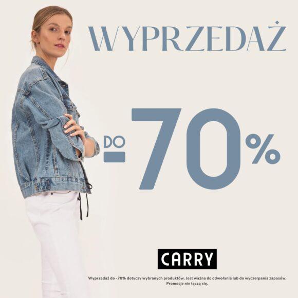 CARRY Wyprzedaż do -70%