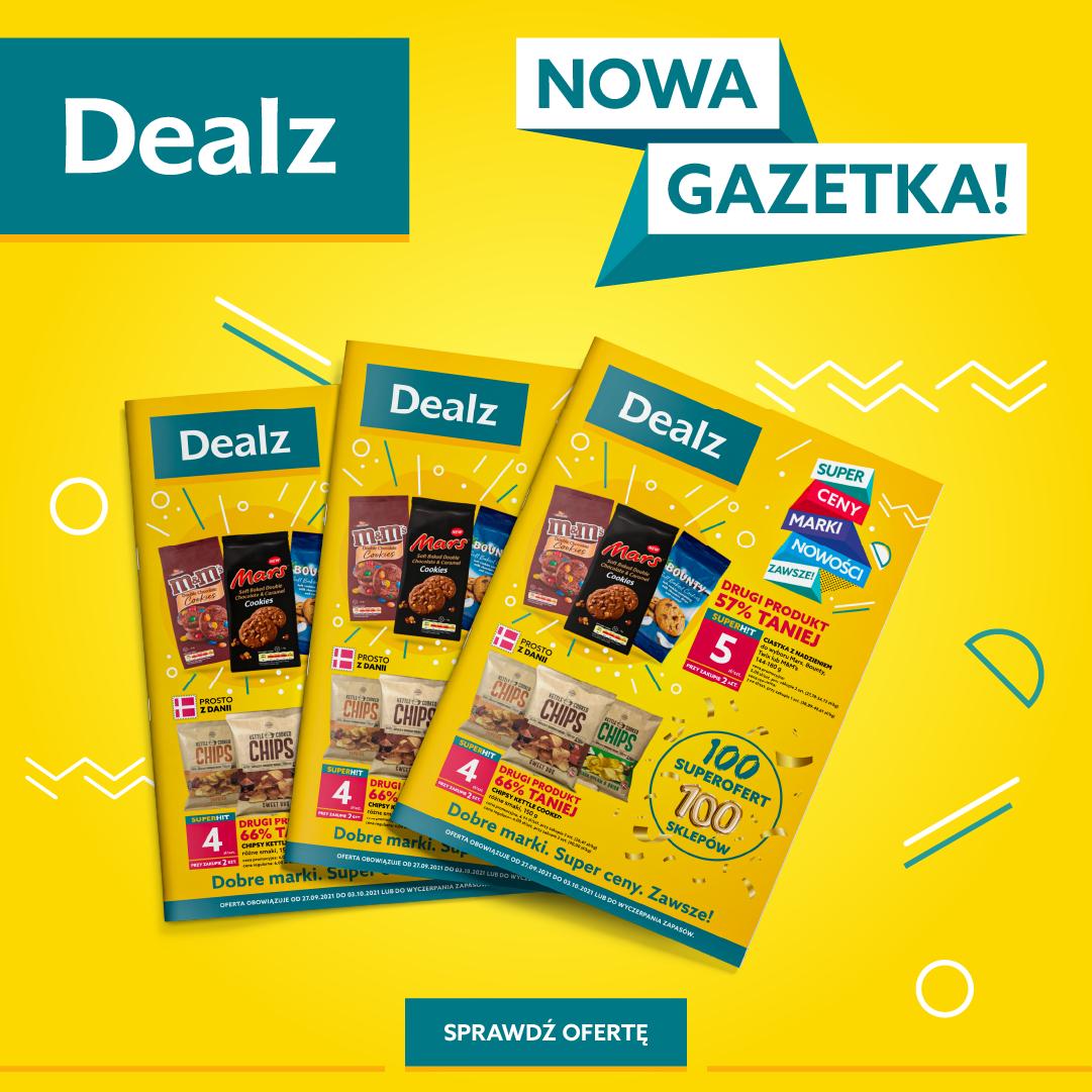 Nowa Gazetka Dealz! 27.09.2021 – 03.10.2021